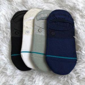 (4) Women's Stance Gamut Super Invisible Socks